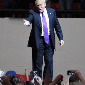 Führung: Donald Trump in Las Vegas