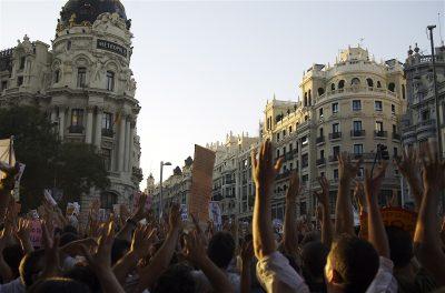 Links bedeutet Gier nach Leben und Kampf gegen das kranke System