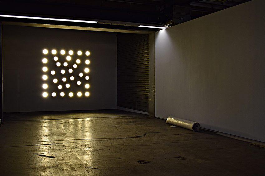 Installation in der Neuen Hauptpost.