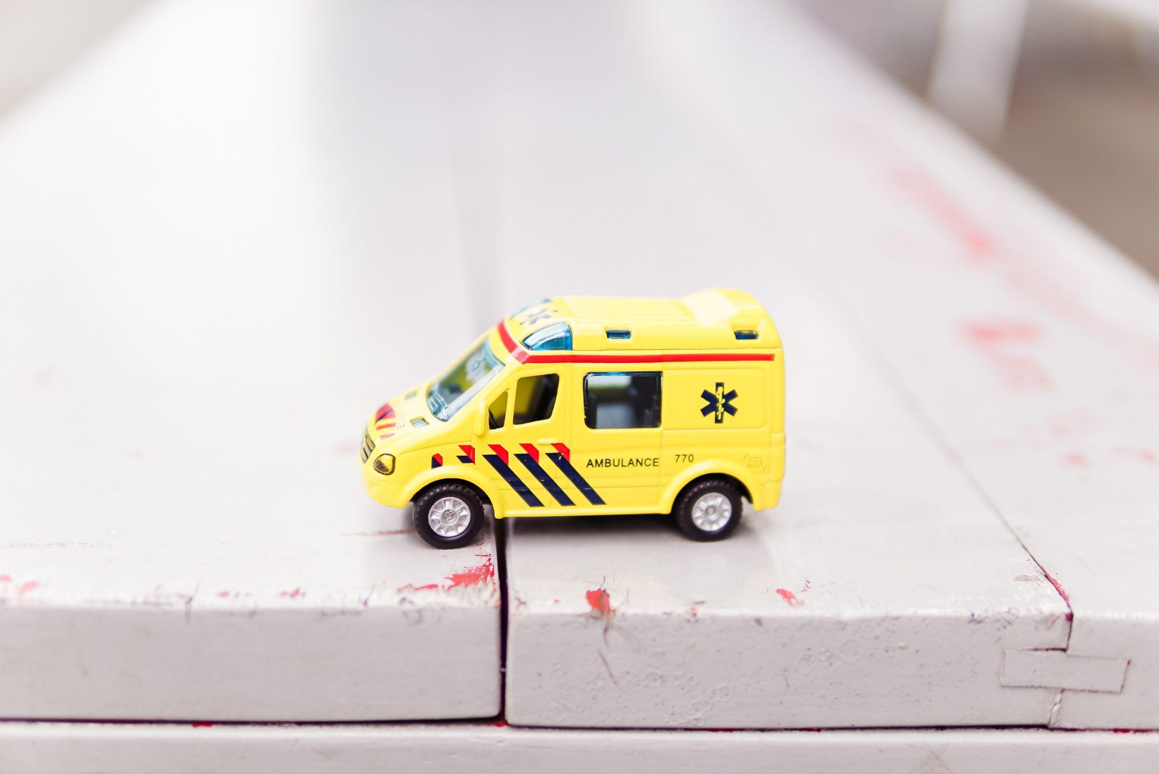 Krankenwagen.