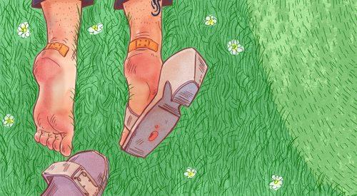 Der englische Rasen
