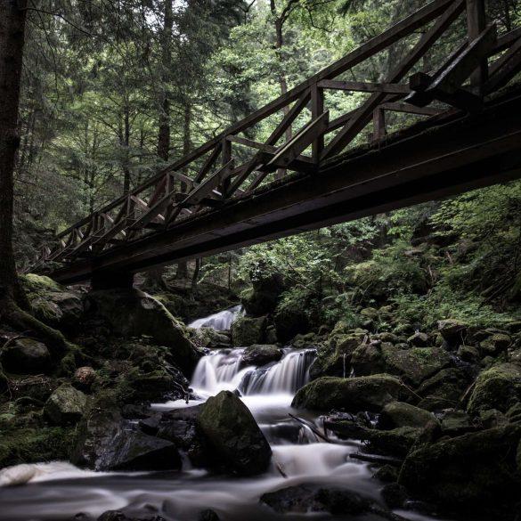 Wasserfall im Schwarzen Wald.