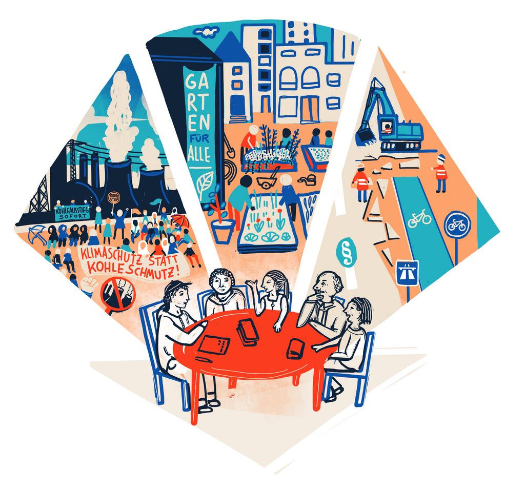 Solidarische Alternativen sind wichtig, aber sie reichen nicht aus. Illustration: Katharina Roth