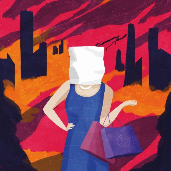 Verdrängen wir die Folgen unseres Konsums? Bild: Fabian Gampp für transform