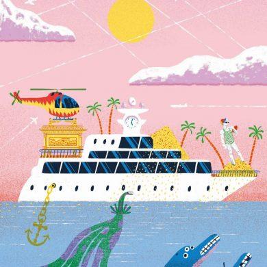 Luxus: Das heisst ganz klar Yachten mit Helikoptern. Oder? Bild: Ed J Brown für transform