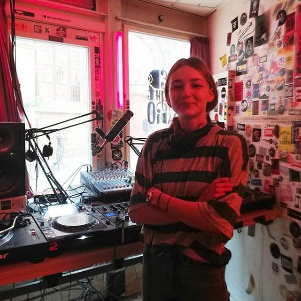 Marie Montexier im Redlight Radio Amsterdam
