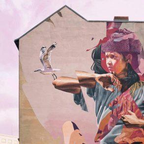 Mural an Hauswand in Berlin; Pavel Nekoranec, CC0 Unsplash