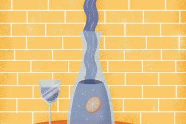 Luxus aus der Leitung - Illustration: Alana Keenan für transform