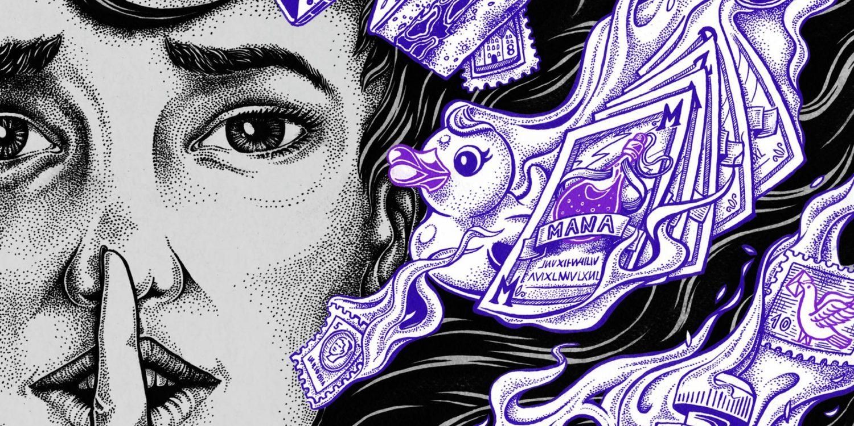 Psst! Illustration von Christian Heerde für transform